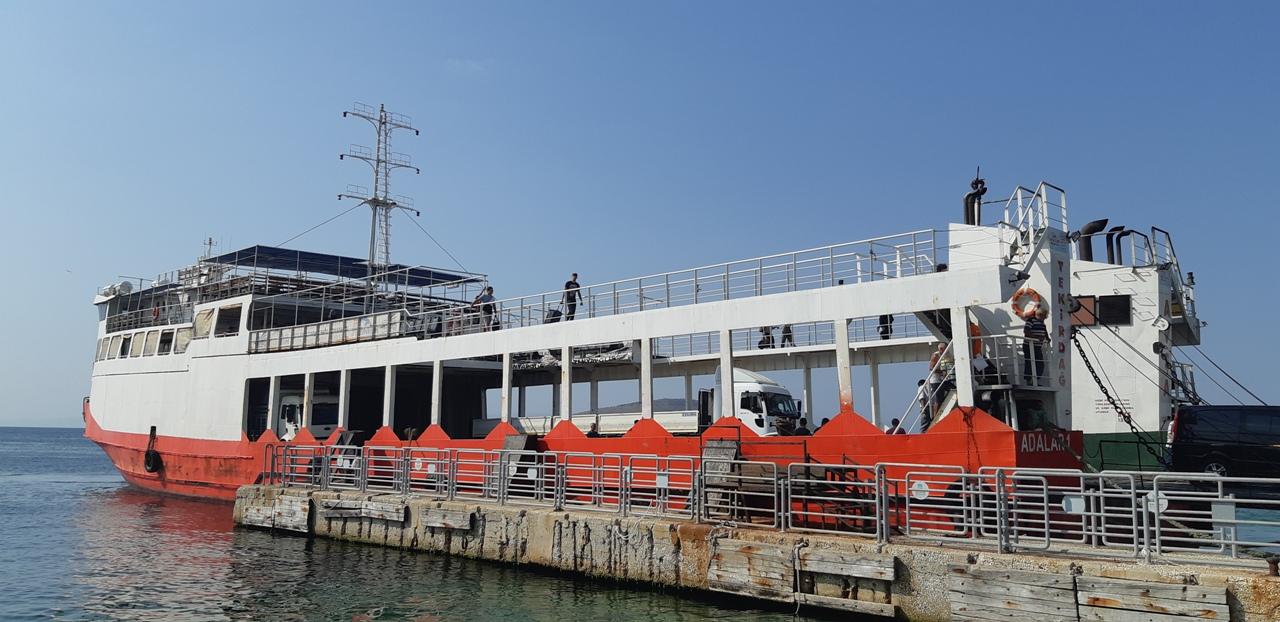 Tekirdağ Avşa Gemi-Vapur-Feribot Seferleri 2020