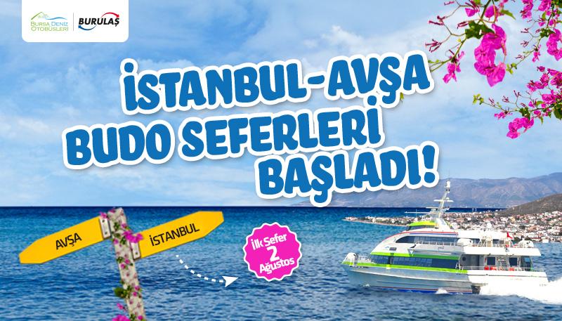 Budo İstanbul Büyükçekmece-Avşa / Avşa-İstanbul Büyükçekmece Seferleri