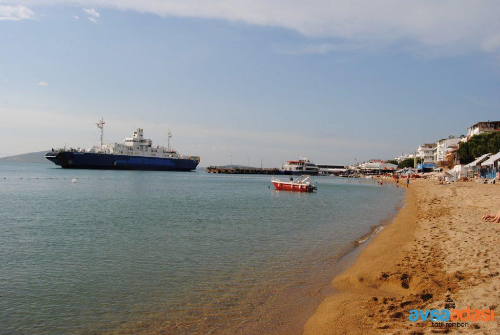 Avşa Adası Yener Ciner Gemisi